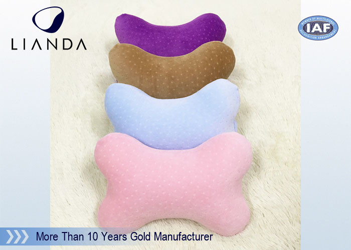 Cute Memory Foam Pillows for Cervical Spine Protection , colorful Car Neck Rest Pillow