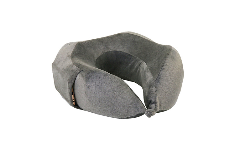 Classic Design Memory Foam Neck Pillow , luxury travel neck pillow Covered by Velvet