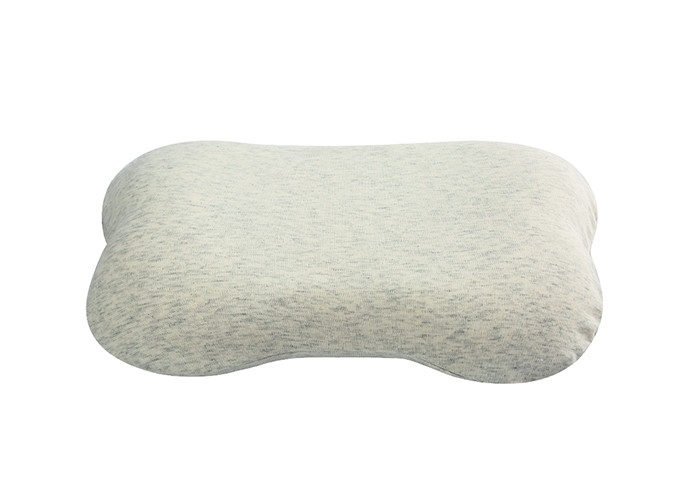 Flat Head Protective Baby Memory Foam Pillow 150D Density Customized Color